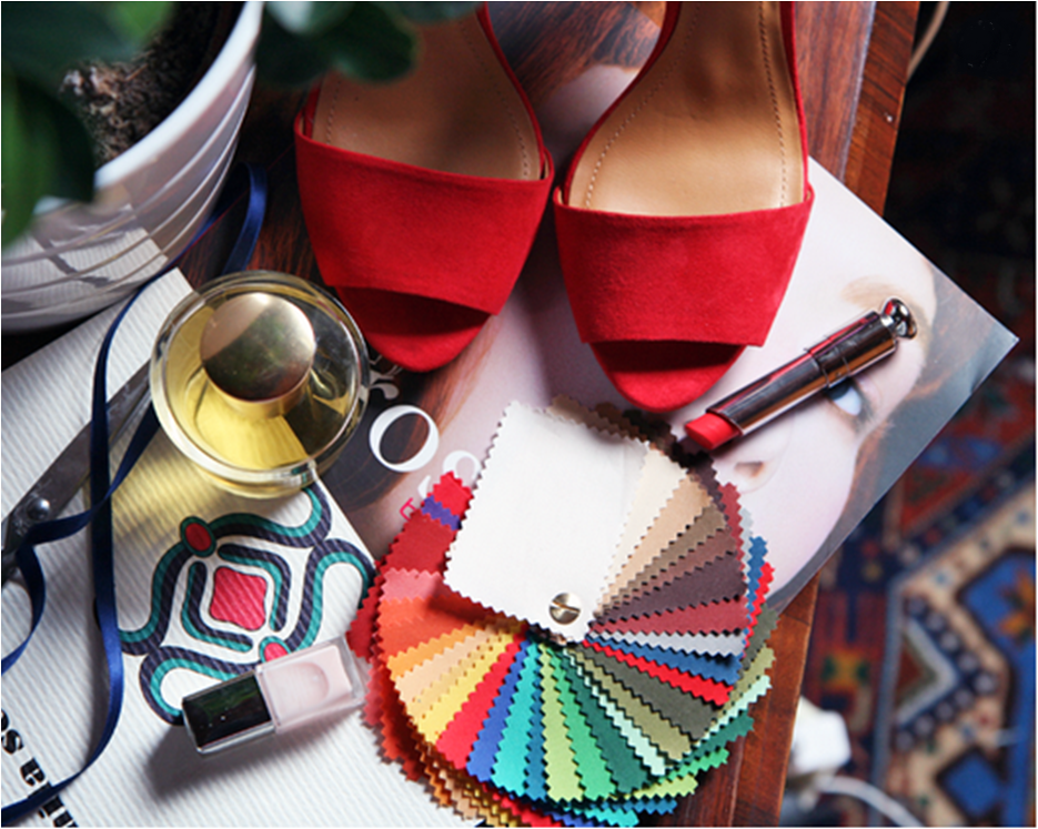 Nella foto una palette colore: indispensabile per efficaci sessioni di shopping. Basta acquisti sbagliati!