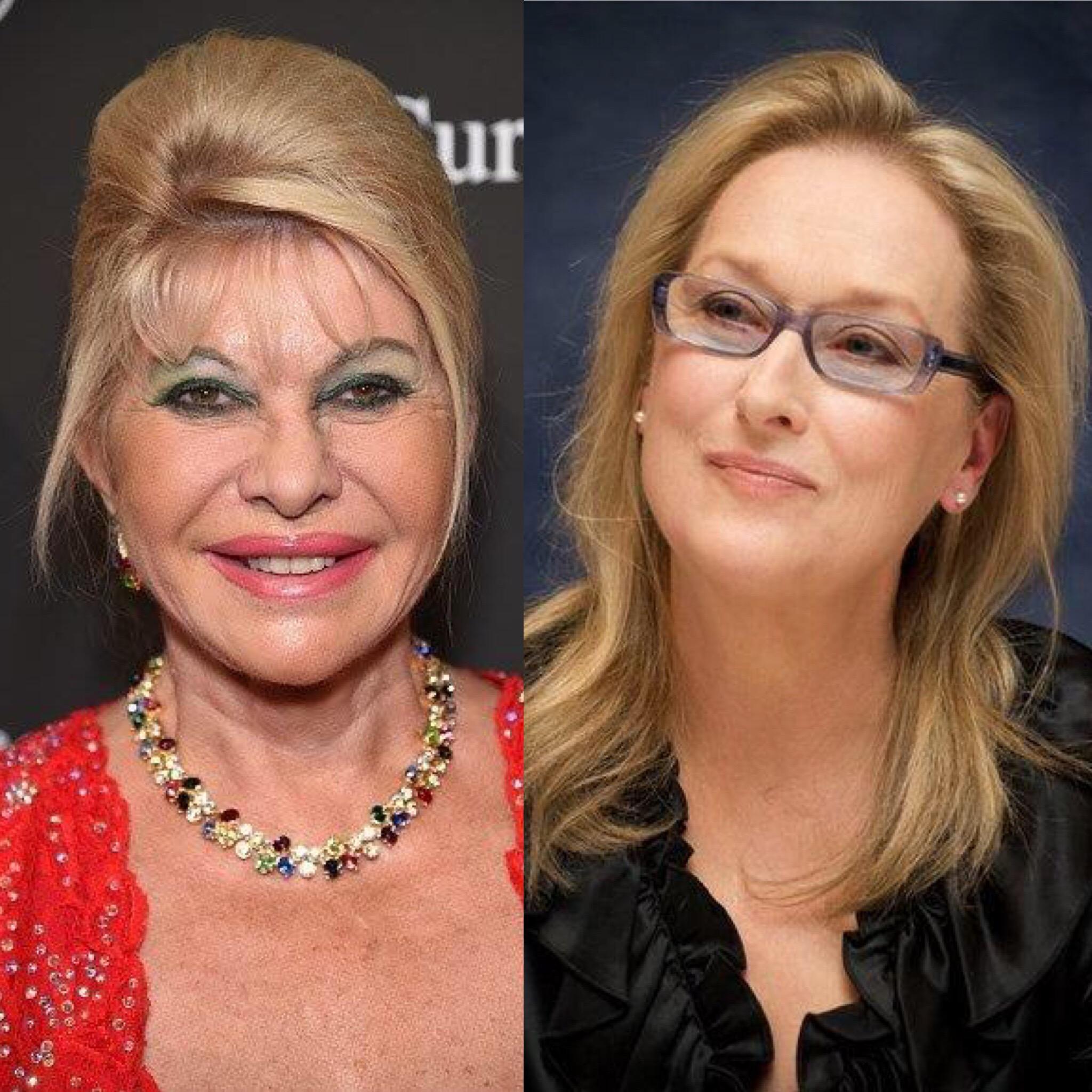 Ivana Trump vs Meryl Streep