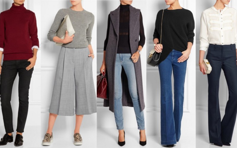 Casual Friday: outfit idea for Friday in office