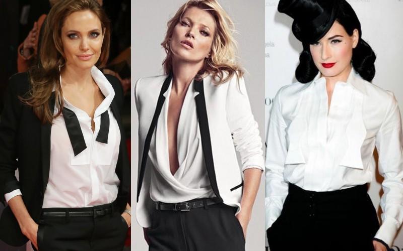 Women's tuxedo. Password: sensuality