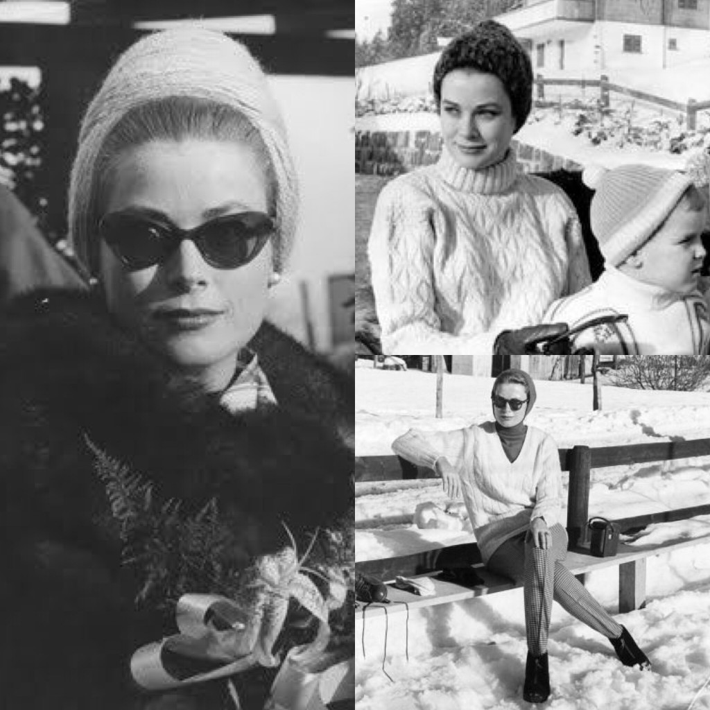 Grace Kelly, unsurpassed icon of elegance. Even in the mountains.