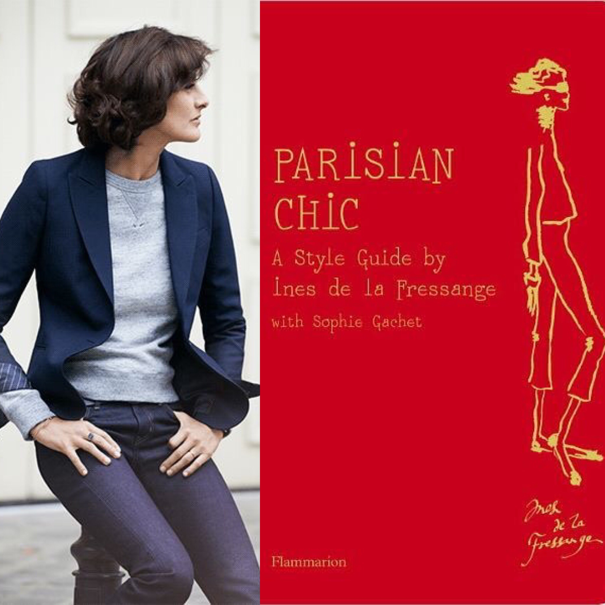 ines de la fressange book how to look younger in 5 steps style tips consulente. Black Bedroom Furniture Sets. Home Design Ideas