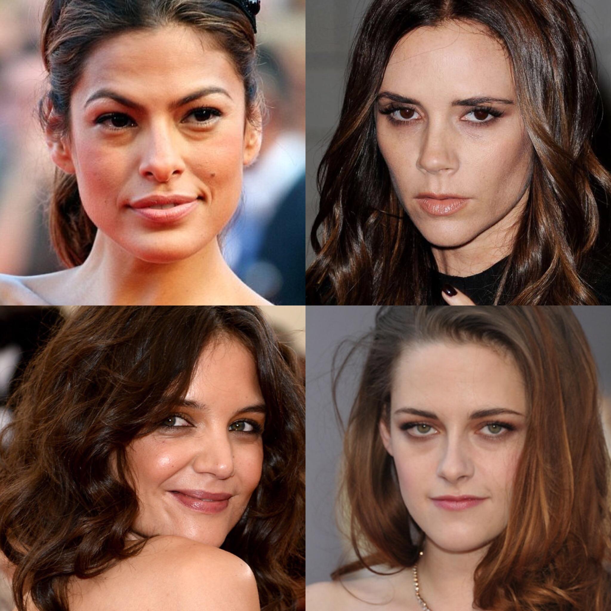 Eva Mendes, Victoria Beckham, Kristen Stewart, Katie Holmes