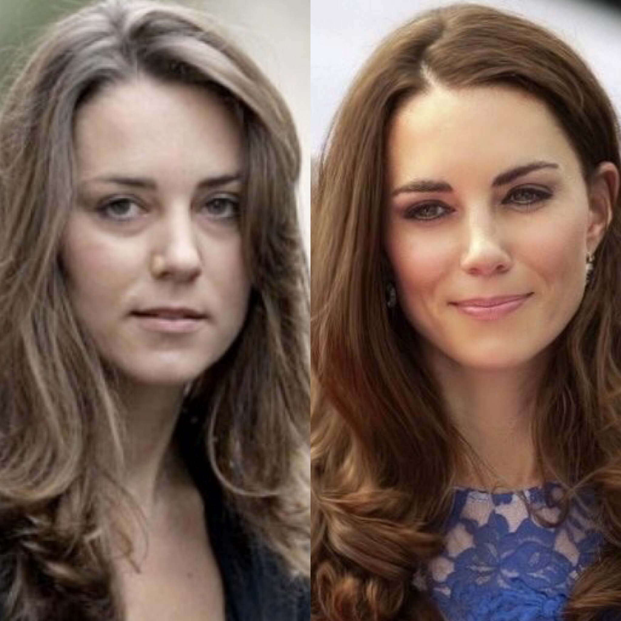 Kate Middleton s looks and her incredible metamorphosis  2e6025704c1c