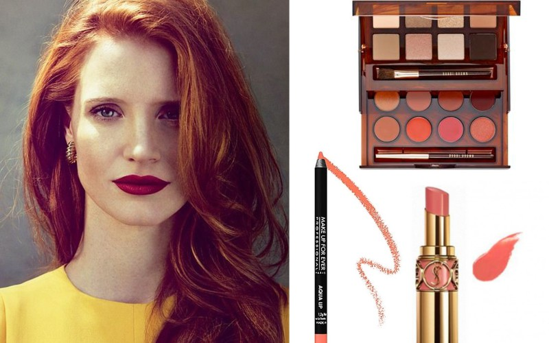 How to wear makeup if you have red hair