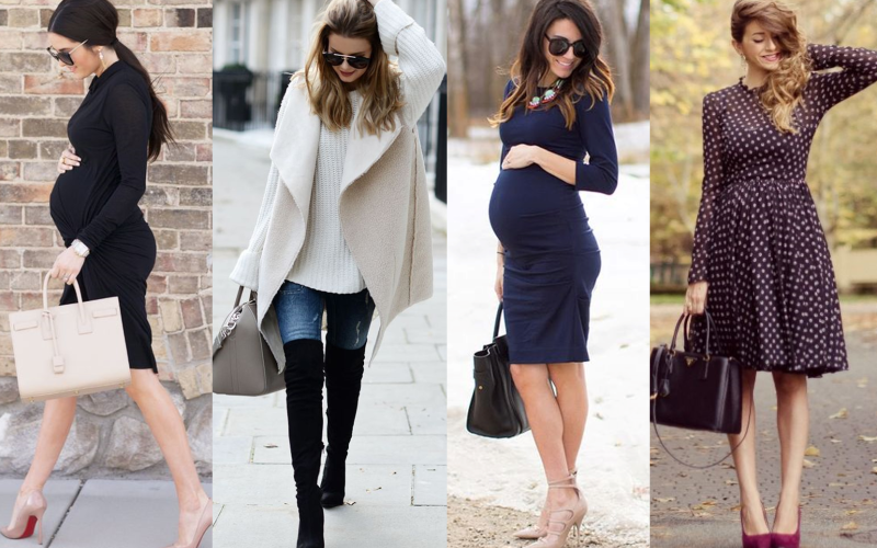 Maternity Look: sexy and feminine even if you are pregnant