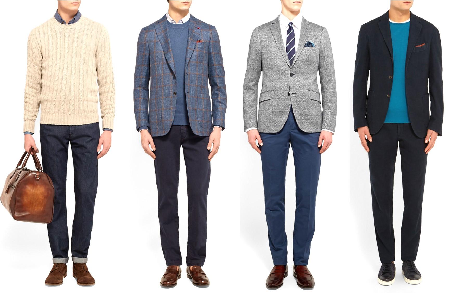 Célèbre Casual Friday: lo stile maschile per il venerdì in ufficio  SO72