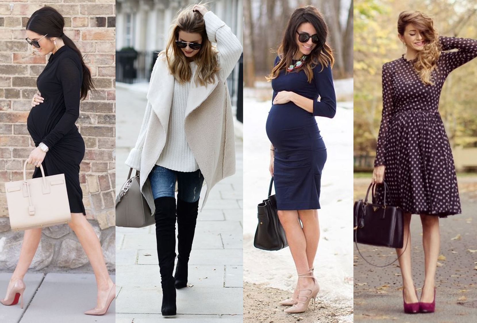 Fashionable Winter Maternity Clothes