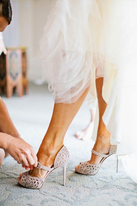 Scarpe sposa boho chic