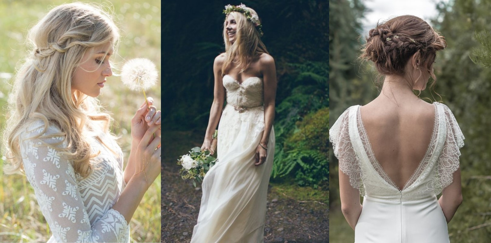 Matrimonio Stile Gipsy : La sposa boho chic tendenza wedding del