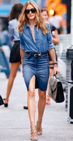 HOW TO WEAR THE DENIM SHIRT  16