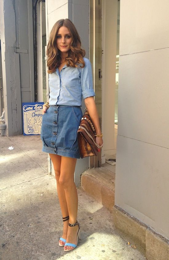 HOW TO WEAR THE DENIM SHIRT  20