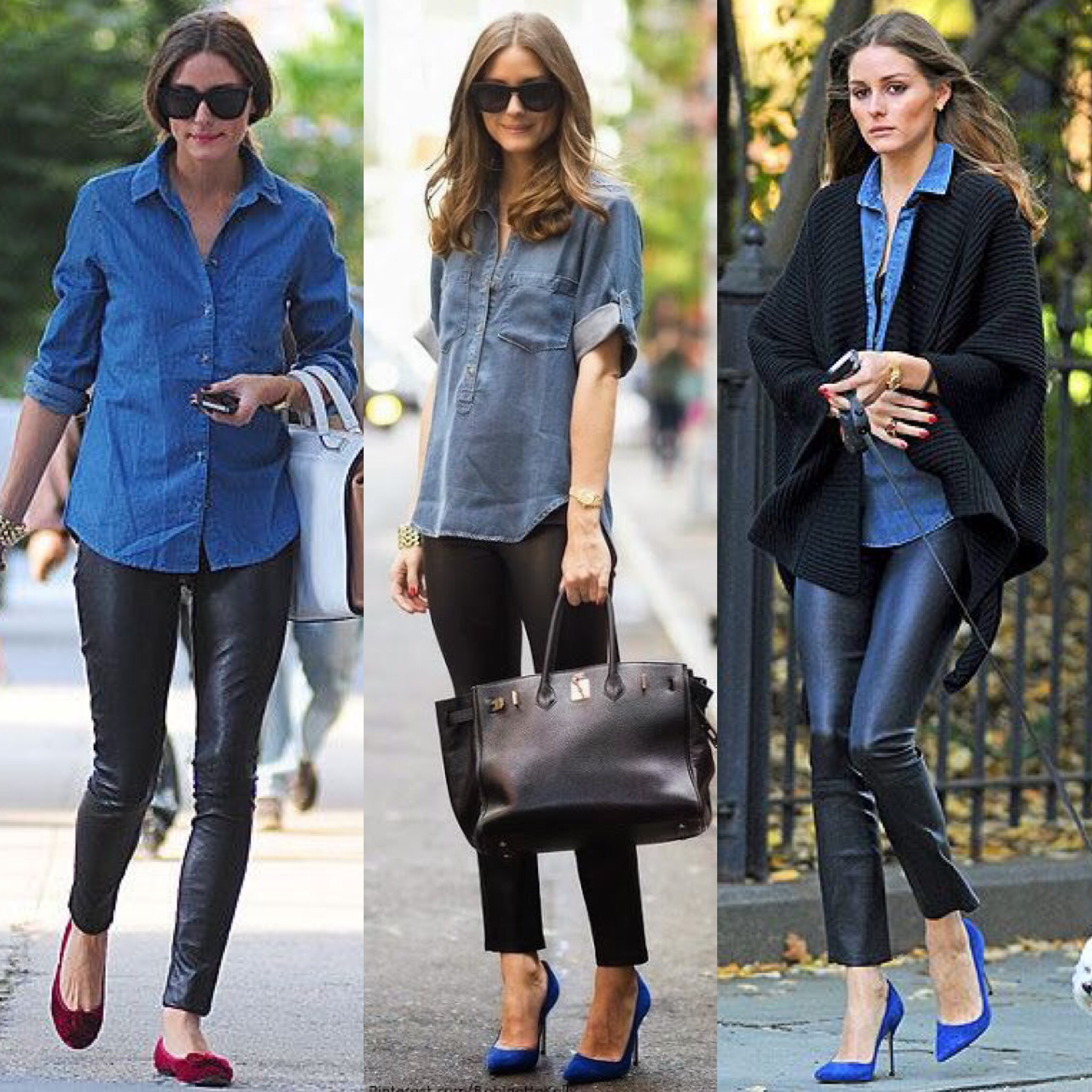 HOW TO WEAR THE DENIM SHIRT  23