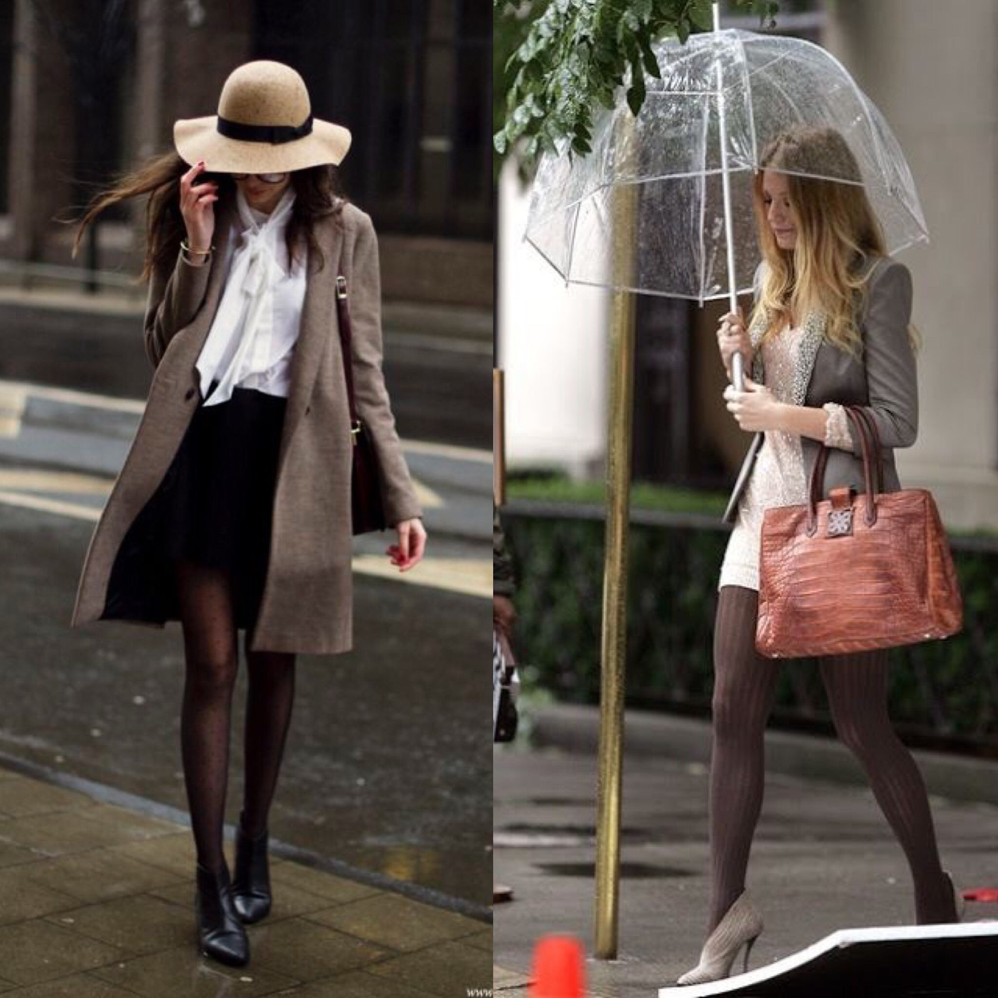 What to wear when it rains 7