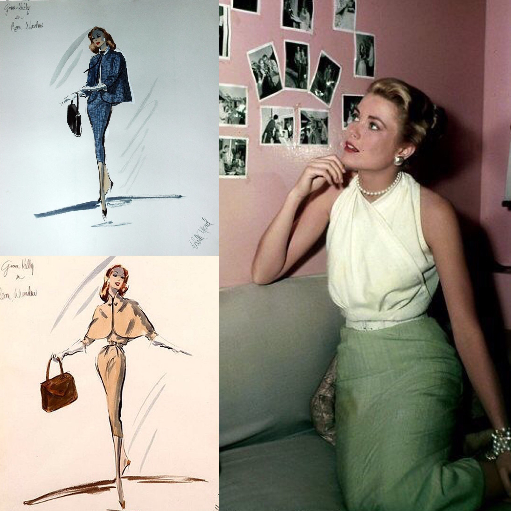 Edith Head and the most beautiful dresses in Hollywood ...