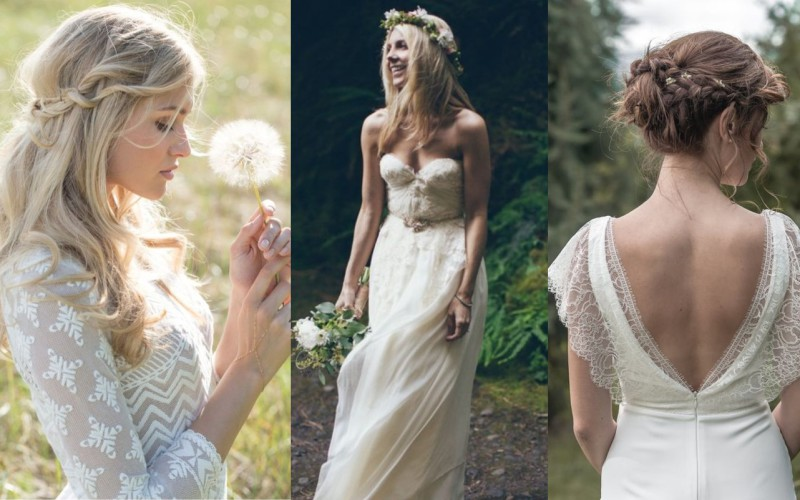 The Boho Chic Bride: wedding trend for 2016