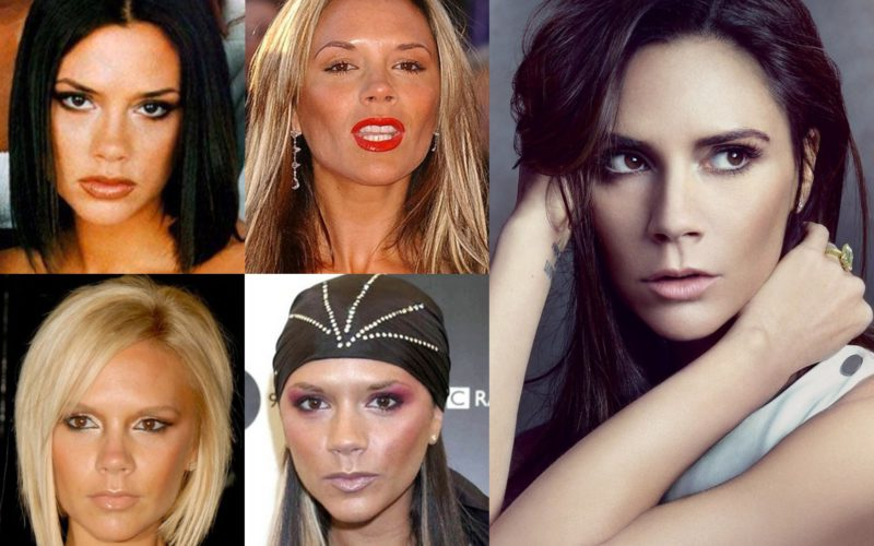 Victoria Beckham style and her beauty evolution