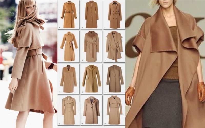The timeless charm of the camel coat