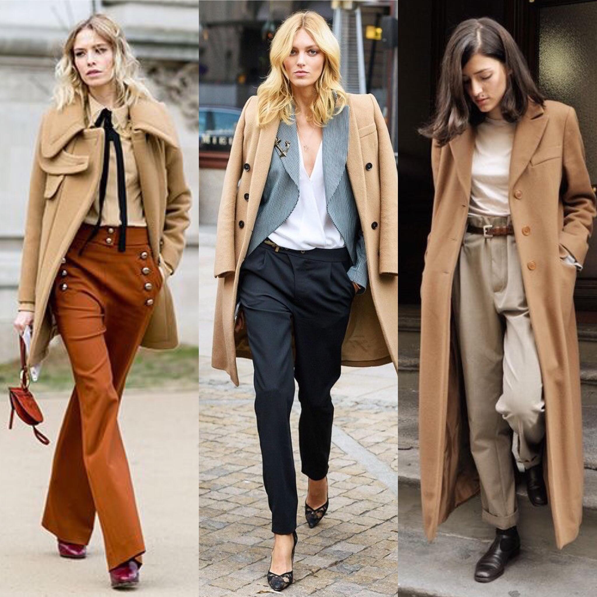 Come abbinare il cappotto cammello | DireDonna