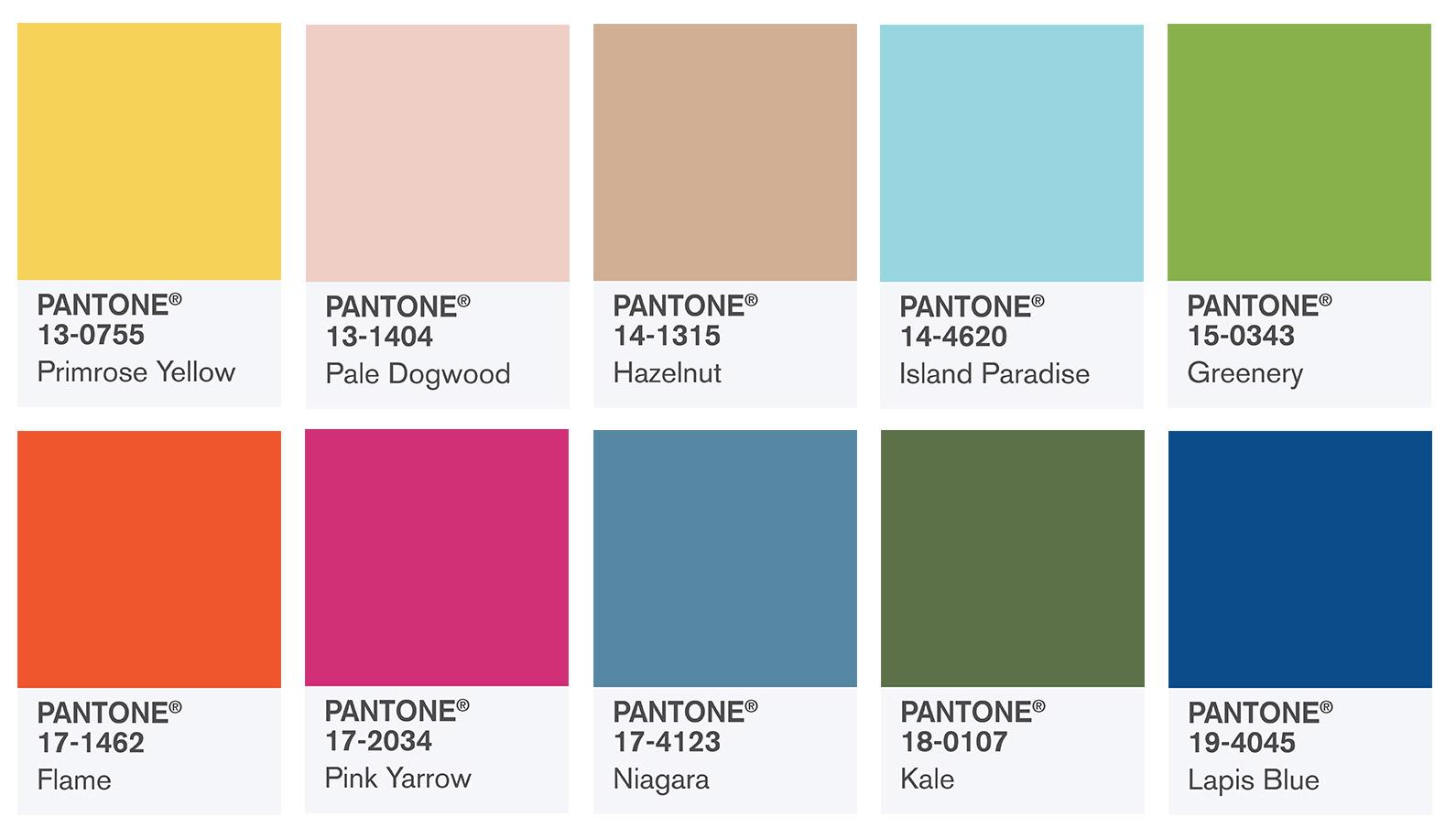 Estremamente Colori Pantone primavera 2017: a ciascuno il suo! | Consulente di  SR32