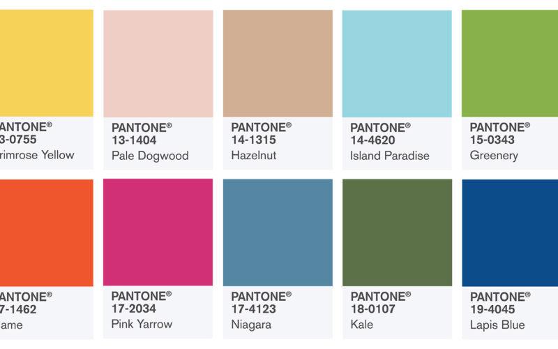 Colori Pantone primavera 2017: a ciascuno il suo!