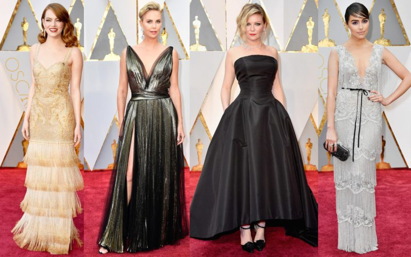 Oscars 2017: looks (and designers) of the ceremony