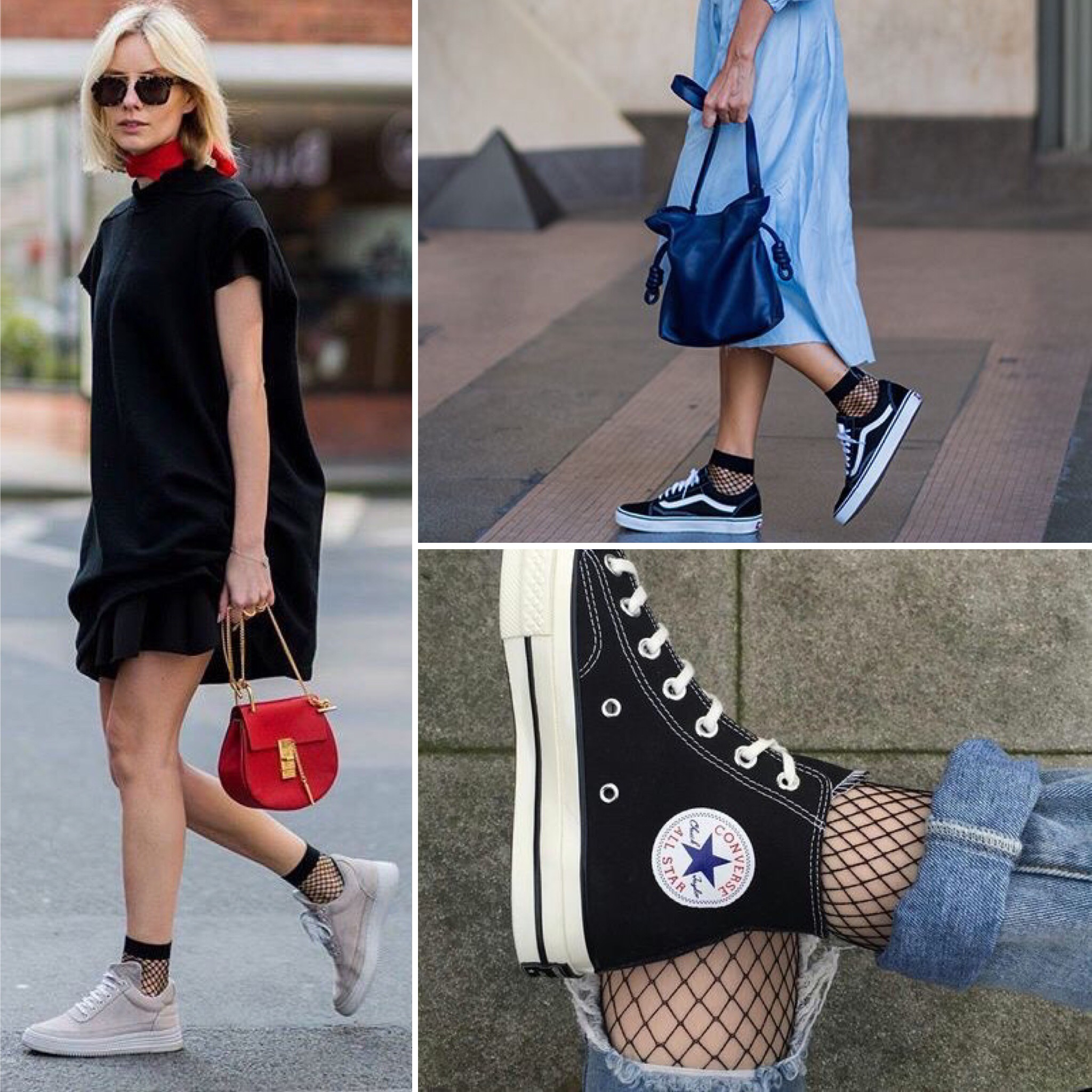 7a7b94ec13a How to wear fishnet socks (with style)