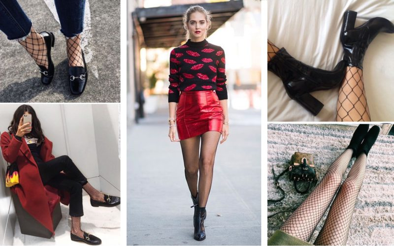 How to wear fishnet socks (with style)