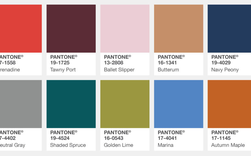 Pantone Fall Colors 2017: pick yours!