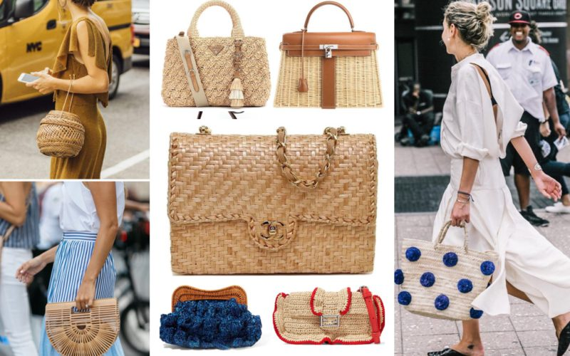 Straw handbag: trend or cult?