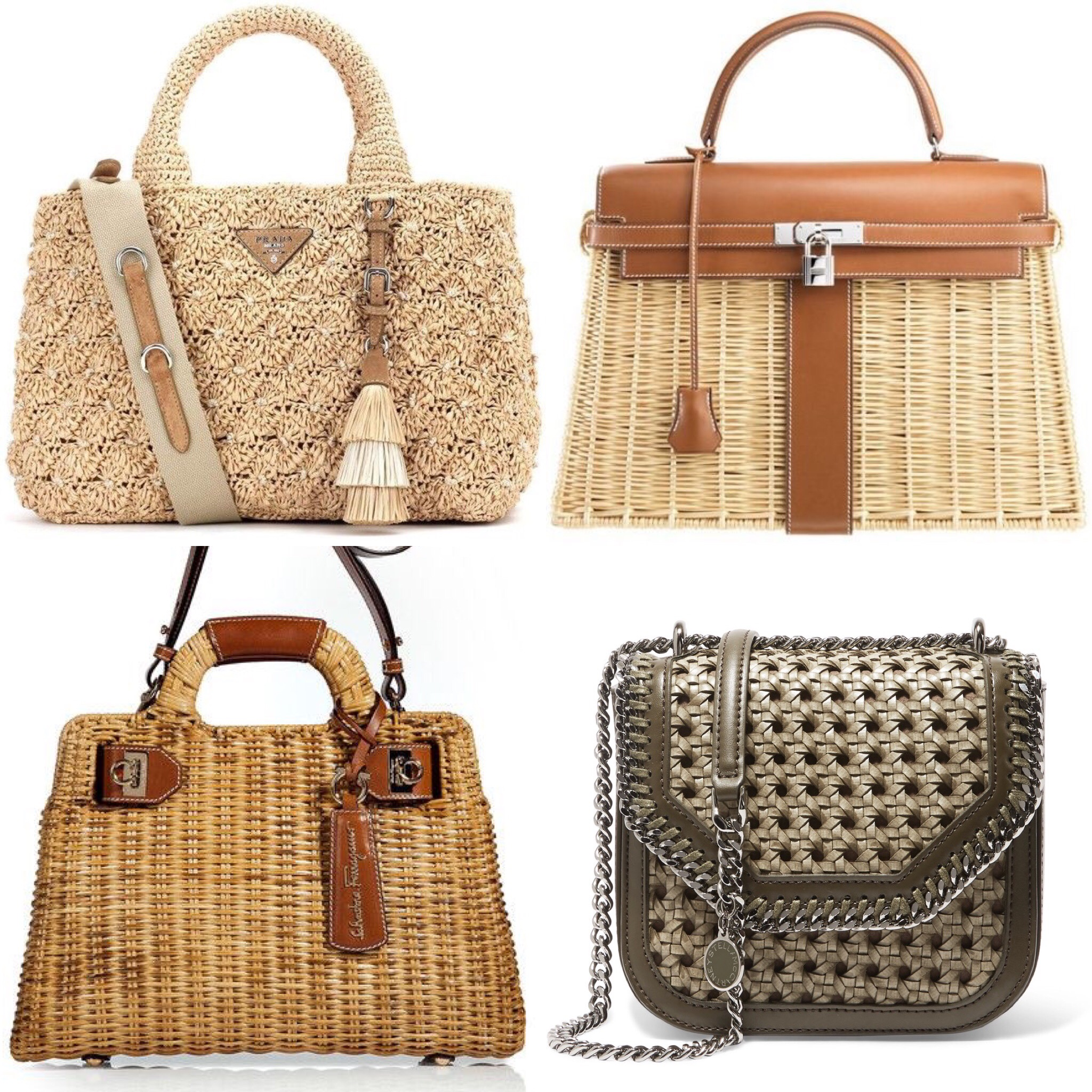 Vintage Or Contemporary The Straw Handbag Is Definitely A Timeless Charm