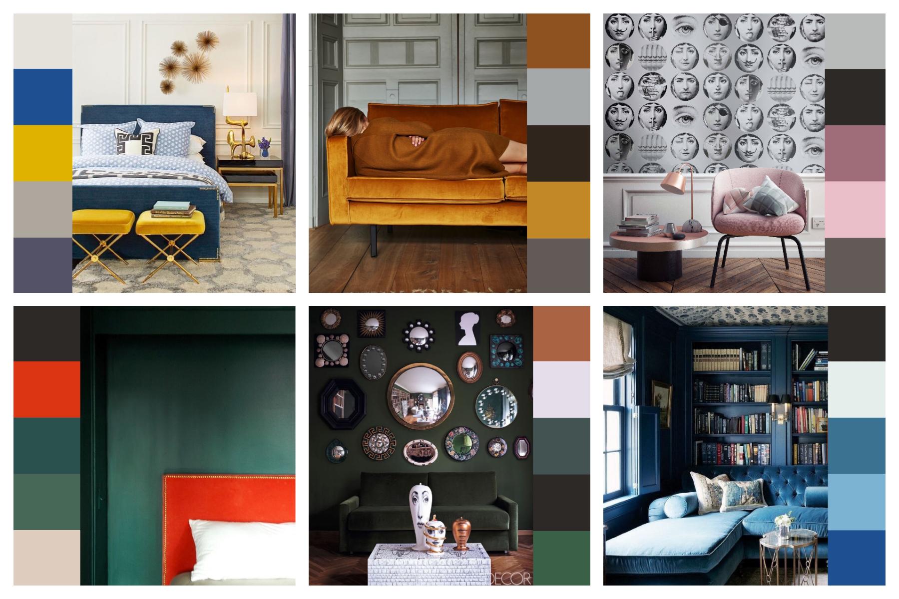 Colori Caldi Per Pareti Di Casa Foto.Come Abbinare I Colori In Casa Consulente Di Immagine
