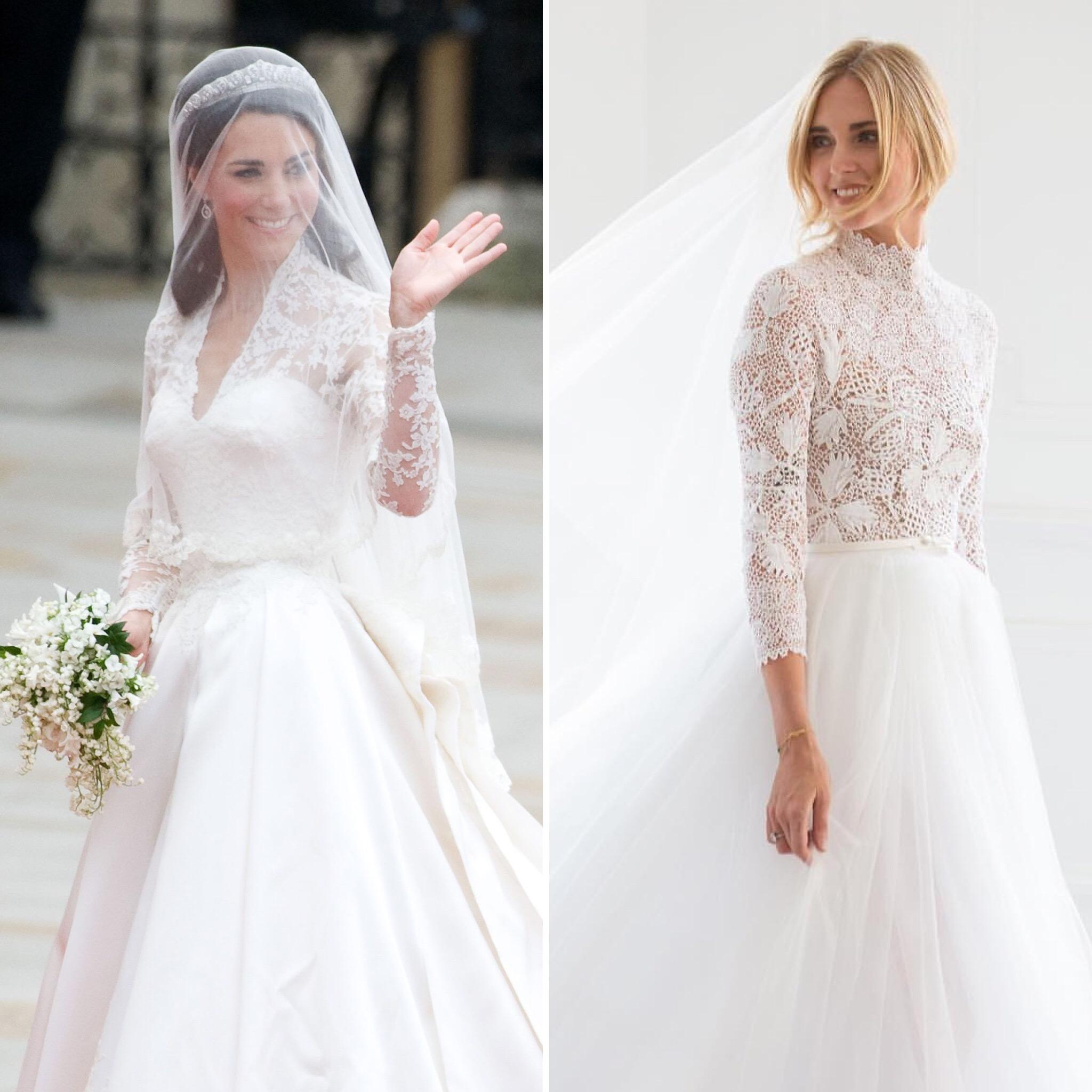 Matrimonio Ferragnez  i SÌ e i NO del look di Chiara Ferragni ... ecc2a571f59