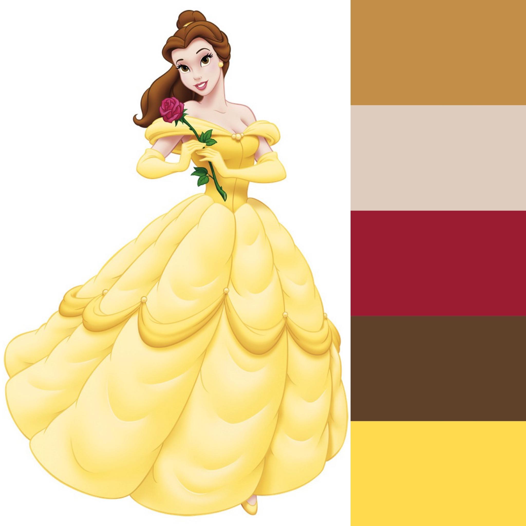 The Color Analysis Of Disney Princesses