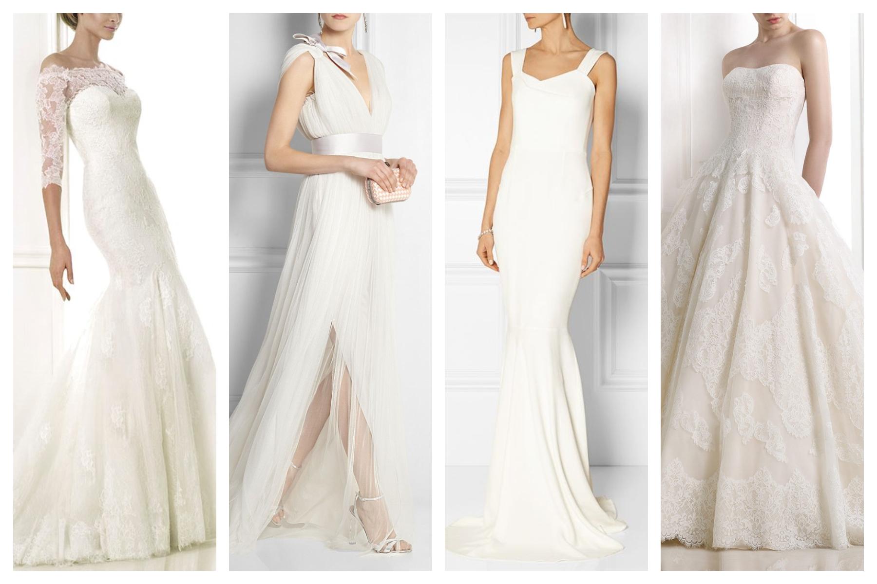 huge selection of 69ad0 acfa8 Come scegliere l'abito da sposa in base alla Body Shape ...