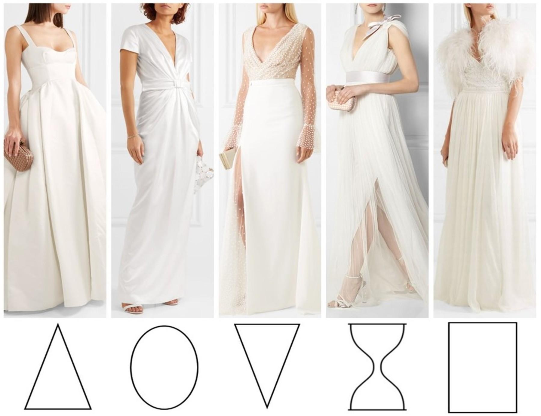 a4ef34a30e59 Come scegliere l abito da sposa in base alla Body Shape